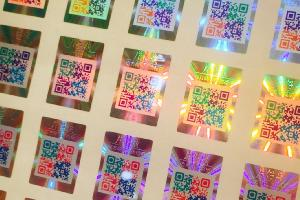 Hologram Color QR Code